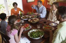 Préserver le rituel du repas en famille