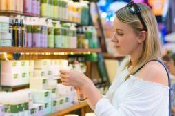 Utiliser des cosmétiques bio réduit les produits toxiques dans le corps