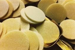 Le Pape a dit : pas de gluten dans les hosties pour l'Eucharistie