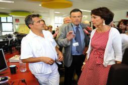 Marisol Touraine au secours de l'hôpital