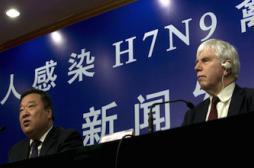 Grippe H7N9: l'OMS reconnaît que le virus s'est propagé en Chine