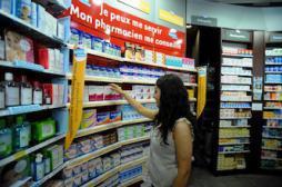 Automédication : coup de frein sur les ventes