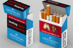 Finis les emballages girly et les cigarettes mentholées