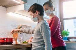Covid-19 à la maison : chaque malade pourrait contaminer la moitié des membres du foyer