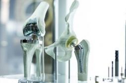 La prothèse du genou connectée : une première mondiale