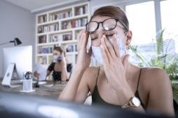 Covid-19 : les yeux secs ou irrités parmi les symptômes