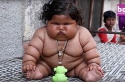 Chahat Kumar pèse 17 kilos à 8 mois