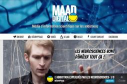 Addictions : un site qui répond aux attentes des ados