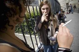 Najat Vallaud-Belkacem s'oppose au tabac dans les lycées