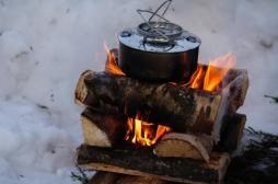 La cuisine au bois est très mauvaise pour les poumons