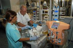 Des chercheurs inventent un appareil de dialyse pour les bébés