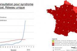 La grippe frappe toute la France