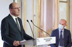 """Jean Castex : """"19 nouveaux départements considérés comme des zones de circulation active du virus"""""""