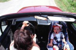 Les sièges auto pour bébé deux fois plus sales que les toilettes