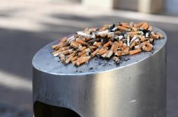 Les mégots de cigarette éteints émettent des substances chimiques