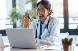 Le nombre de patients utilisant la téléconsultation a été multiplié par trois en 2020