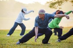 Chez les personnes âgés, la pratique du tai-chi réduit le risque de chute