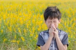 Inhabituel! Les parents sous-estiment le risque allergique chez leurs enfants
