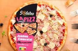 Sodebo rappelle des pizzas suspectées de contenir du métal