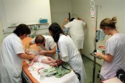 Bronchiolite : l'épidémie déclarée en Ile-de-France et en Paca