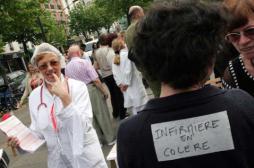 Manifestations : les infirmières se mobilisent dans toute la France