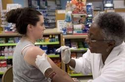 Grippe: les pharmaciens peuvent vacciner dans deux régions