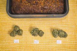 Gâteau au cannabis :