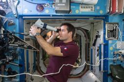Espace : pourquoi les astronautes voient moins bien à leur retour
