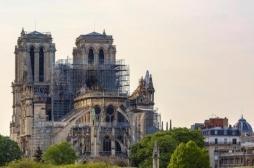 Pollution au plomb à Notre-Dame : des associations manifestent pour le confinement du chantier