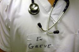 Hôpital : grève massive des médecins lundi