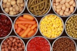 Les aliments en conserve sont riches en nanoparticules de zinc mauvaises pour la digestion