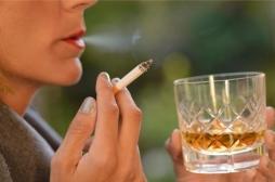 Pour arrêter de fumer, mieux vaut aussi arrêter de boire !