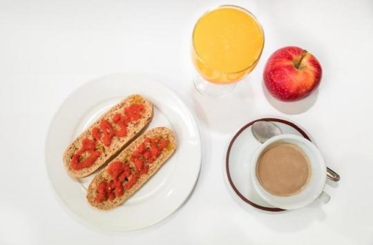 Athérosclérose: un petit déjeuner consistant est protecteur