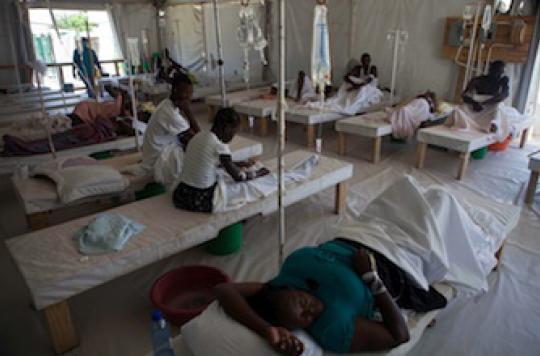 Les Casques bleus responsables de l'épidémie de choléra en Haïti