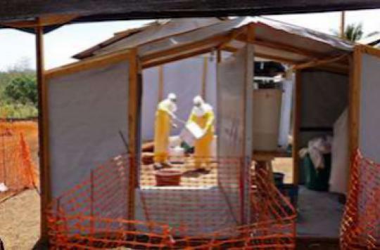 Ebola : 20 000 personnes pourraient bénéficier d'un traitement japonais