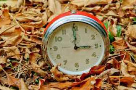 Heure d'hiver: une heure en moins pour 20 minutes de sommeil en plus