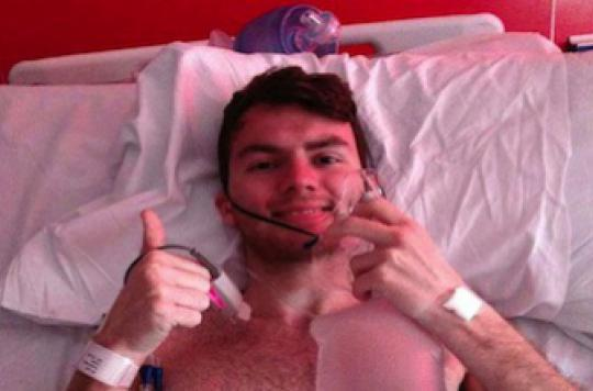 Stephen Sutton : un cancer de l'intestin à 15 ans est rarissime
