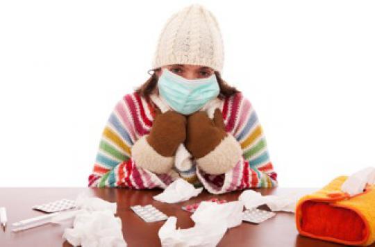 Grippe : les généralistes pour le port du masque en salle d'attente