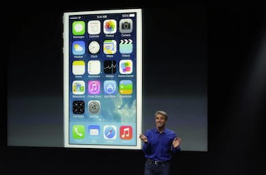 iOS 7 : la nouvelle interface d'iPhone qui donne le tournis