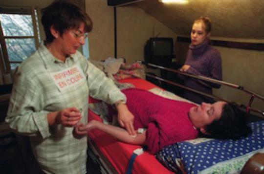 Burn-out : une menace pour plus de 60% des infirmiers et kinés