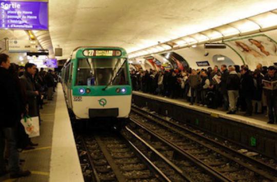 Le métro encrasse nos poumons