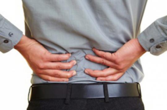 Mal de dos : 10% de la population mondiale souffre de lombalgies