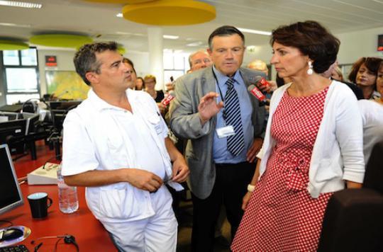 Marisol Touraine au secours de l\'hôpital