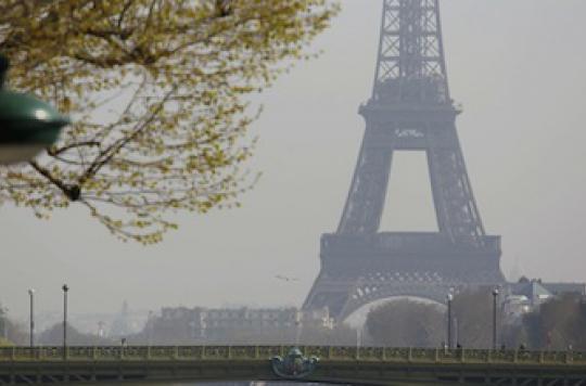 Pollution des villes: des médecins parisiens lancent l\'alerte