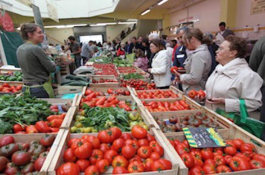 Le régime végétarien prévient le risque d'hypertension