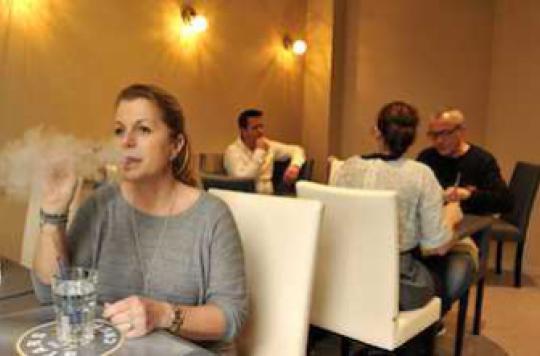 Les Français séduits par la e-cigarette