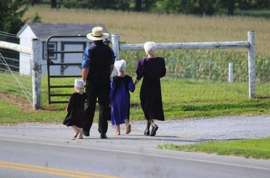 Une mutation explique pourquoi les Amish vivent plus vieux
