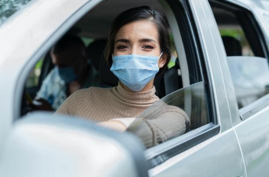 Covid-19 : comment réduire les risques de contamination dans une voiture ?