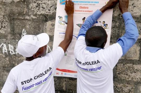 Choléra : l'OMS juge la situation préoccupante en RDC
