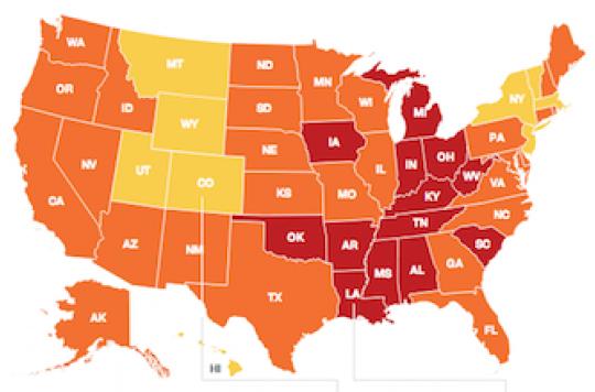 Obésité : les Etats-Unis gardent la ligne